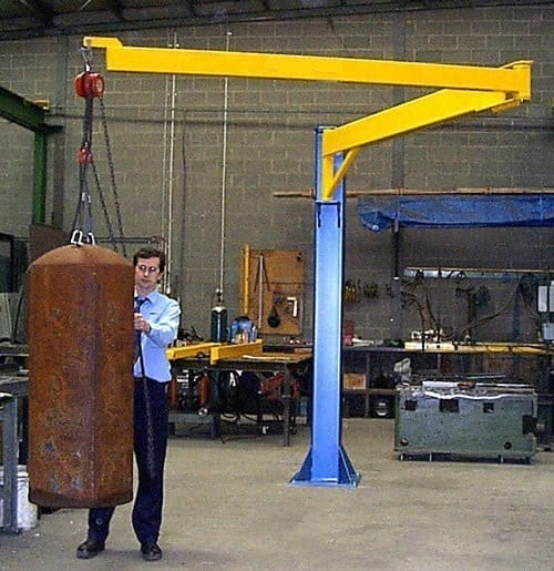 Articulated Jib Crane Materials Handling