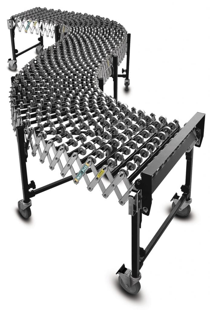Expandable Amp Flexible Conveyor Bestflex Materials Handling