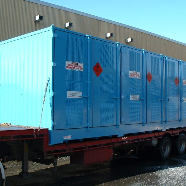 Dangerous Goods Storage Relocatables Materials Handling