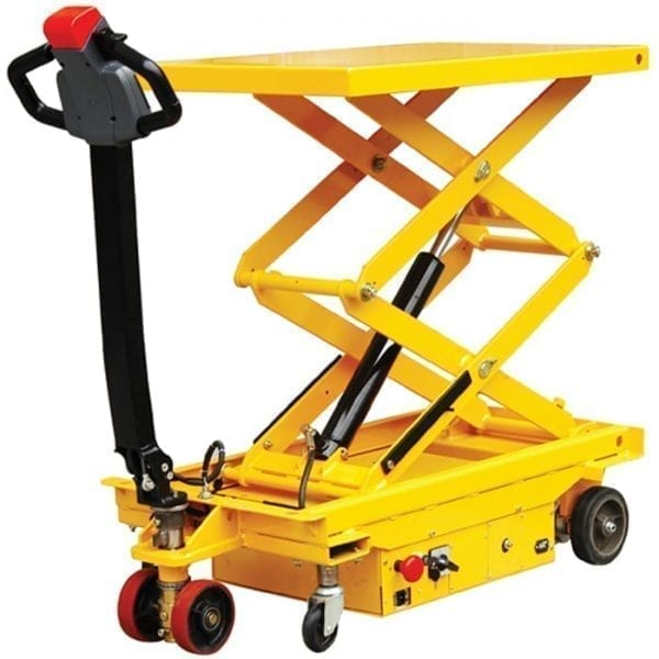 MESF80D Powered Lift and Drive Scissor Trolley