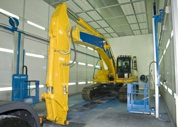 Excavator-maintenance
