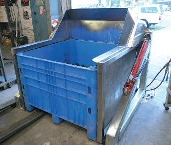 Forward Bin And Drum Tipper Materials Handling