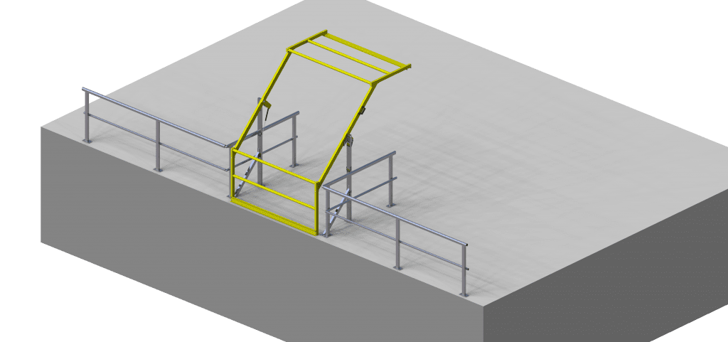 MGW392 Mezzanine Safety Gate