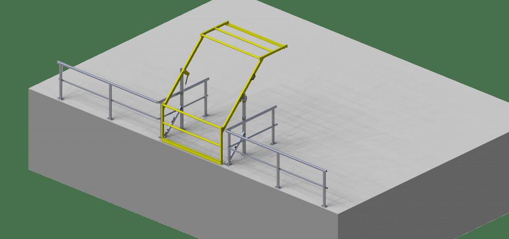 GW392 Pallet loading Gate2