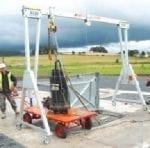 Porta-Gantry on site