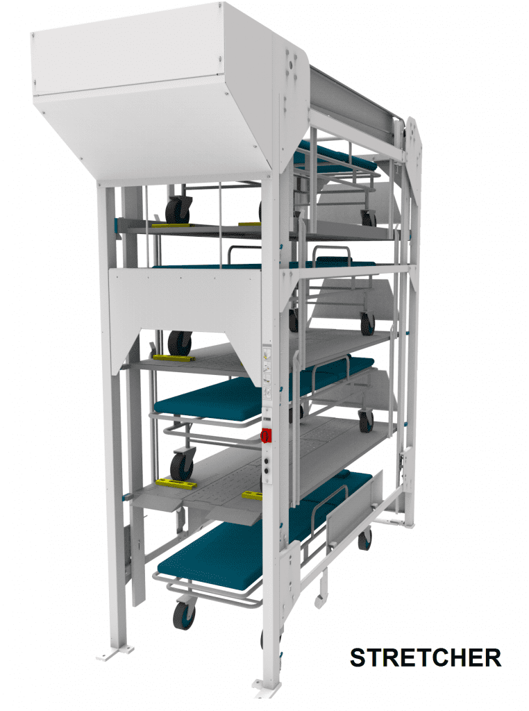 Hospital Bed Storage Solutions