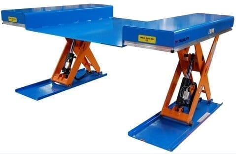 MTLG1200 Ultra Low Profile Scissor Lift Table