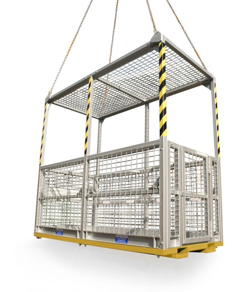 Safety Crane Cages Materials Handling