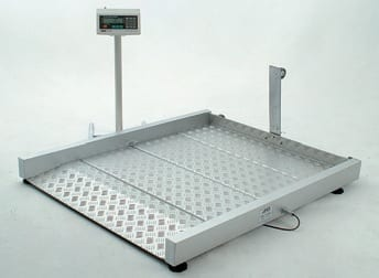 Wheelchair-scale