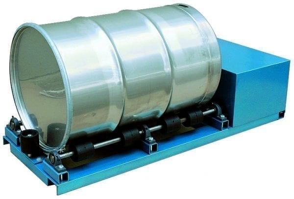 Drum Roller Mixer Materials Handling