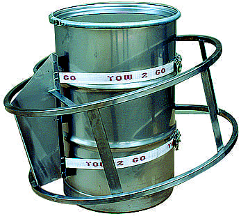 Drum Tumbler Mixer - Materials Handling