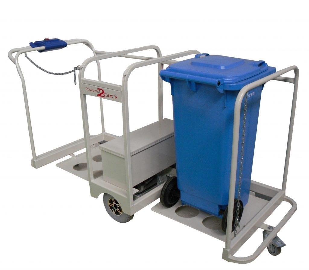 MWBT Wheeie bin powered trolley