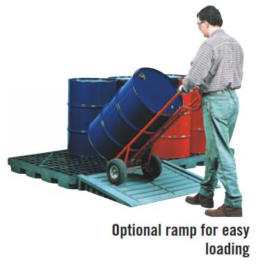 hazmat accumulation centre optional ramp
