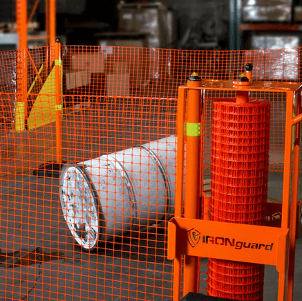 Portable Safety Zone contains spills