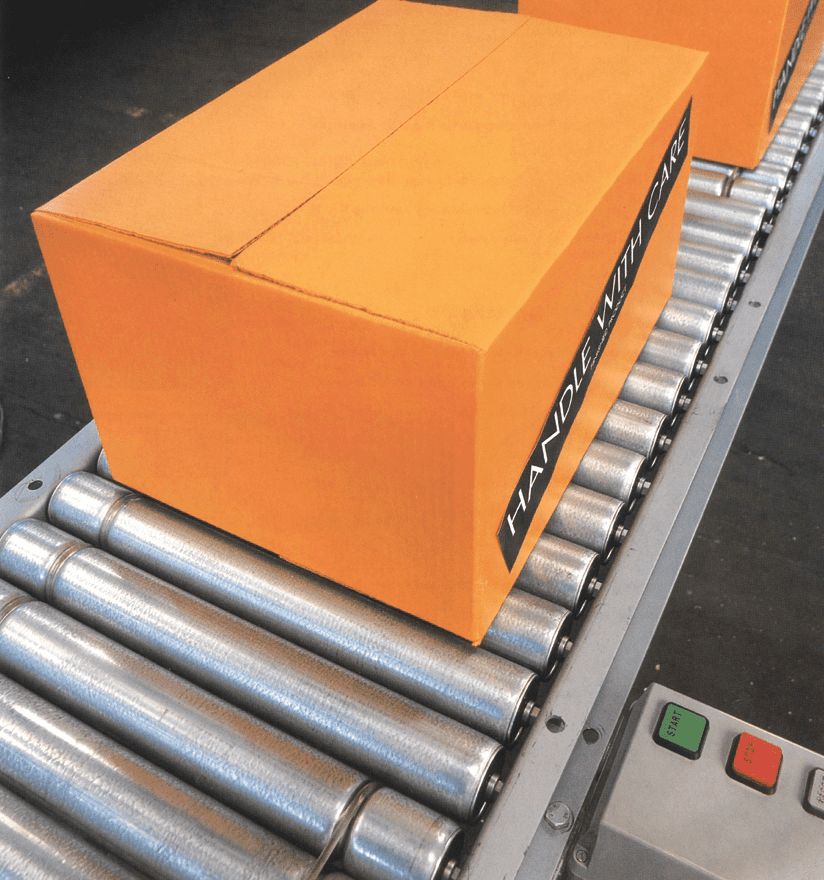 Powered Roller Conveyors - Cleanline Lineshaft - Materials Handling