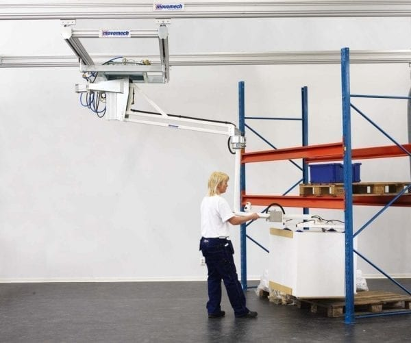 Vacuum Lift Assist Devices : Mechspace balancing manipulator materials handling