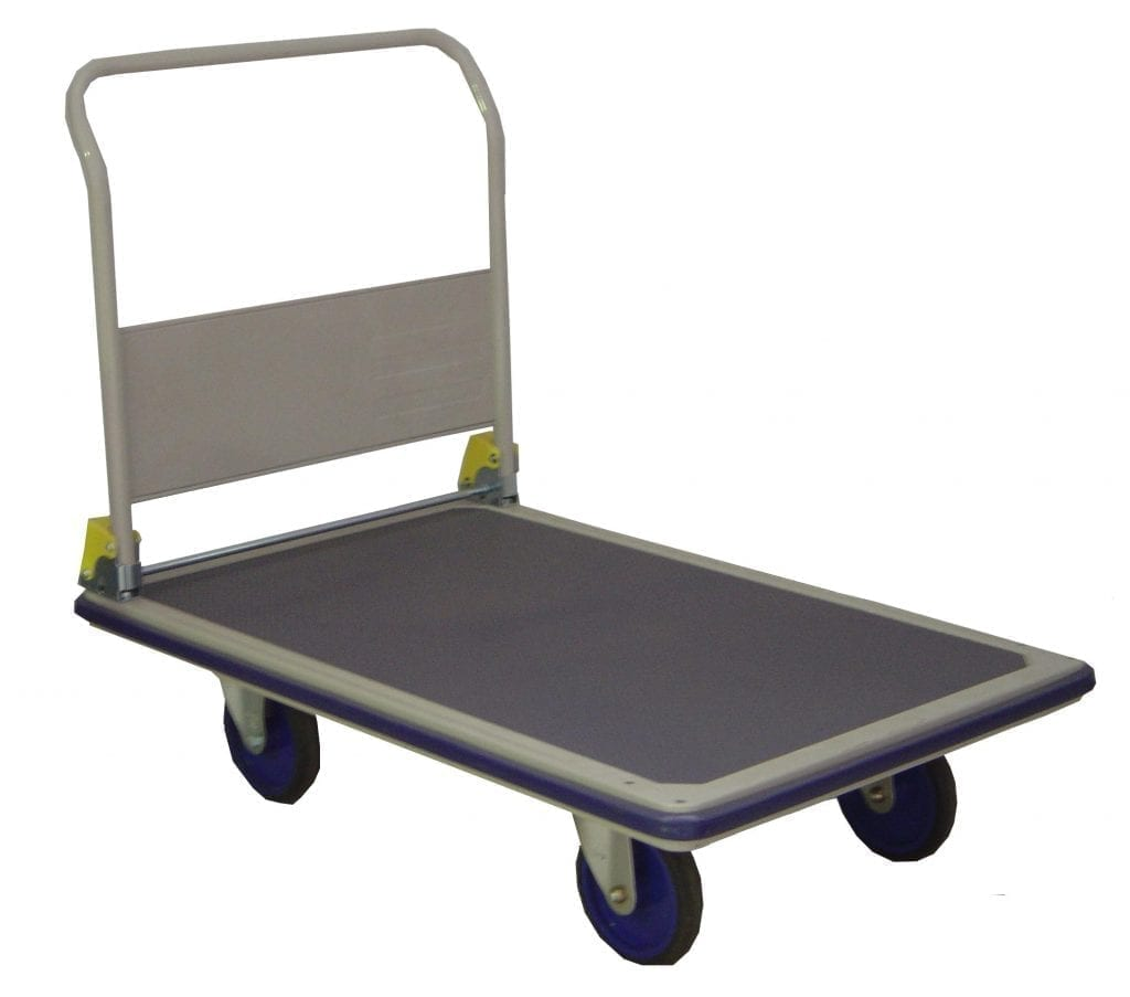 Prestar Single Platform Folding Handle Trolleys
