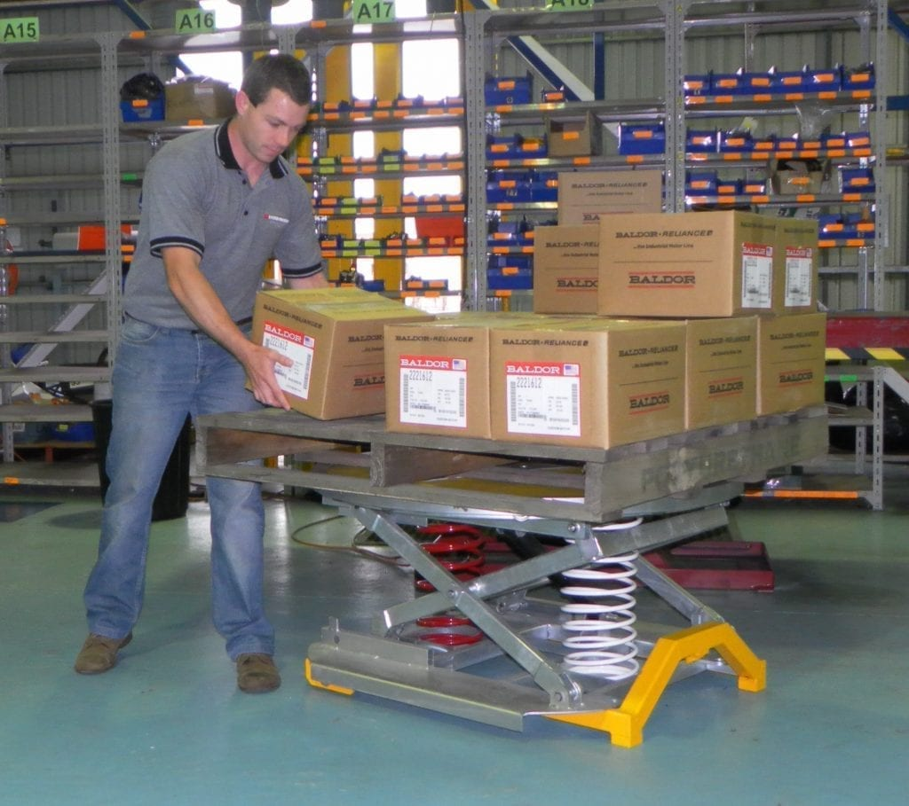 Palift Palletising Tables Materials Handling