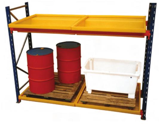 Pallet Racking Bund Materials Handling
