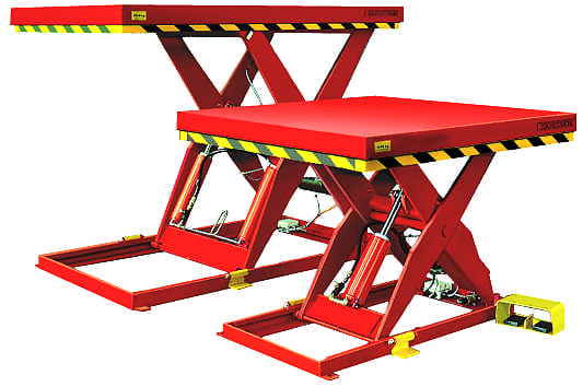 SmartLift scissor lift table