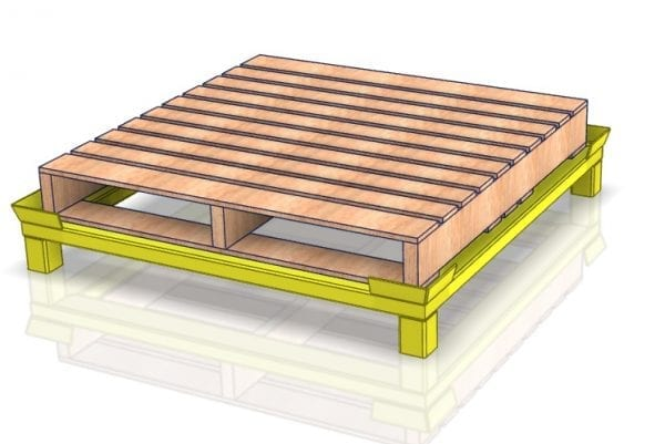 Pallet Stand 2524-01