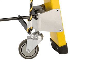 Accessories Castor and Wheel Lever Actuated Castors