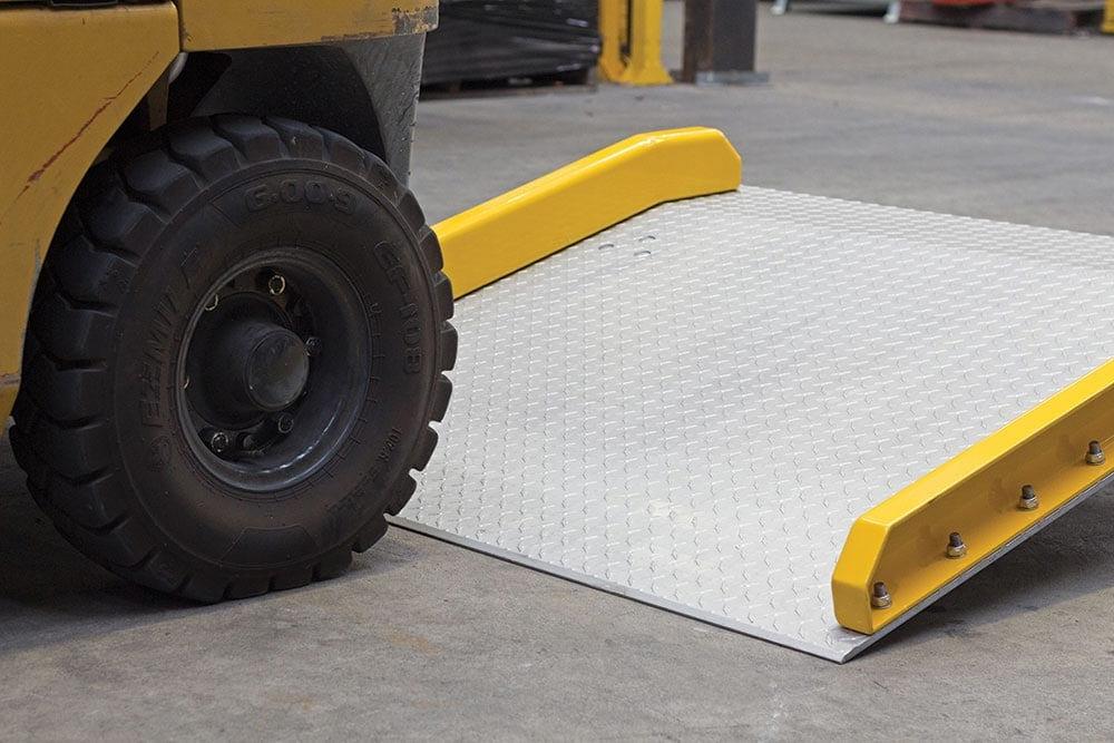 Aluminium Dock Board heavier machinery