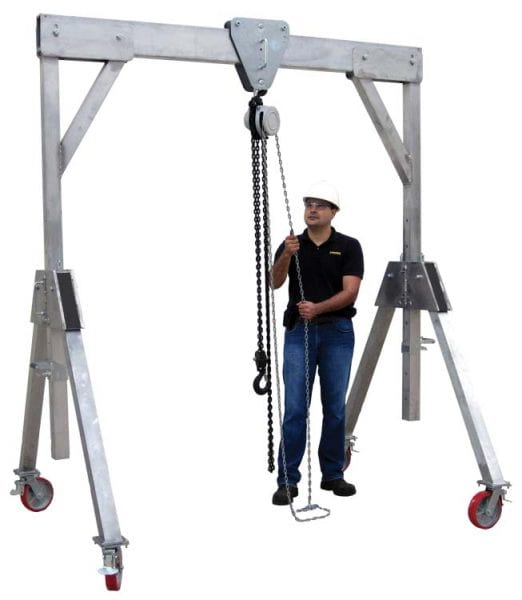 Aluminium Mobile Gantry