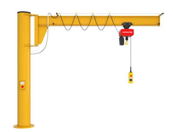 Assistant freestanding jib crane (2)