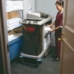 B6189 Janitor and Housekeeping Carts Storage