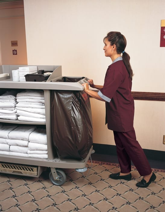 B6189 Janitor and Housekeeping Carts Transporting