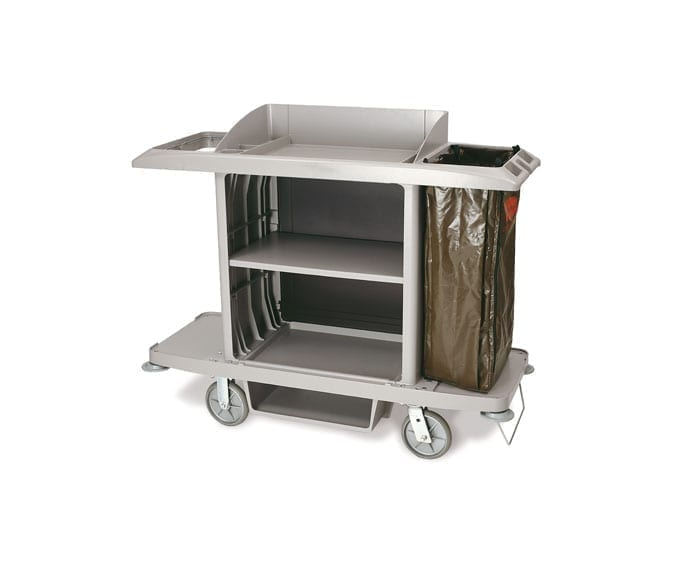 B6189 Janitor and Housekeeping Carts beige
