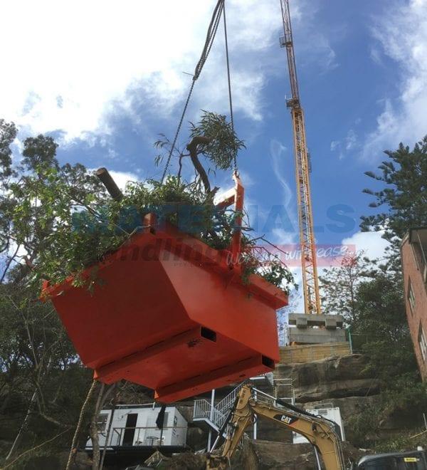 BBWB Bulk Waste Crane Bins lift