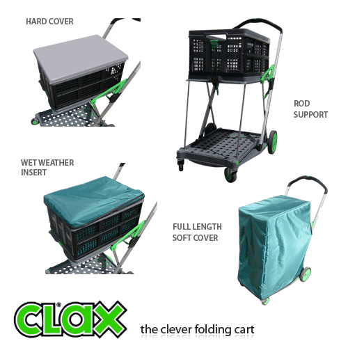Folding Clax Amp Scout Cart Trolleys Materials Handling