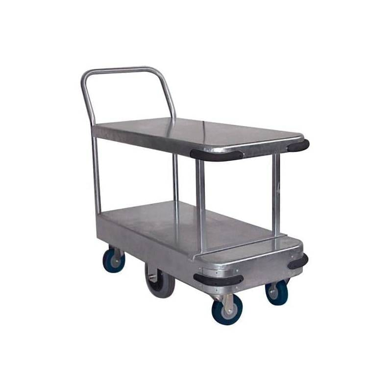 BHTS500D Galvanised Platform Trolleys