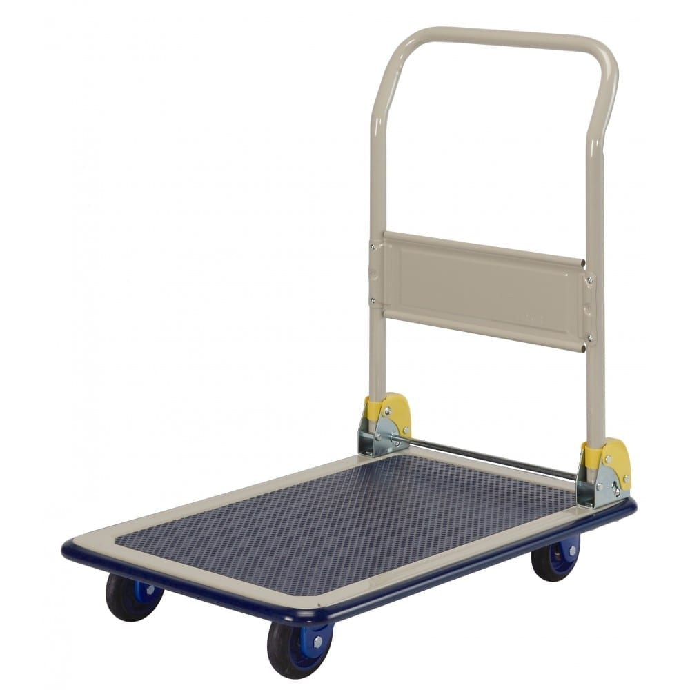BNB101 Prestar Single Platform Folding Handle Trolleys