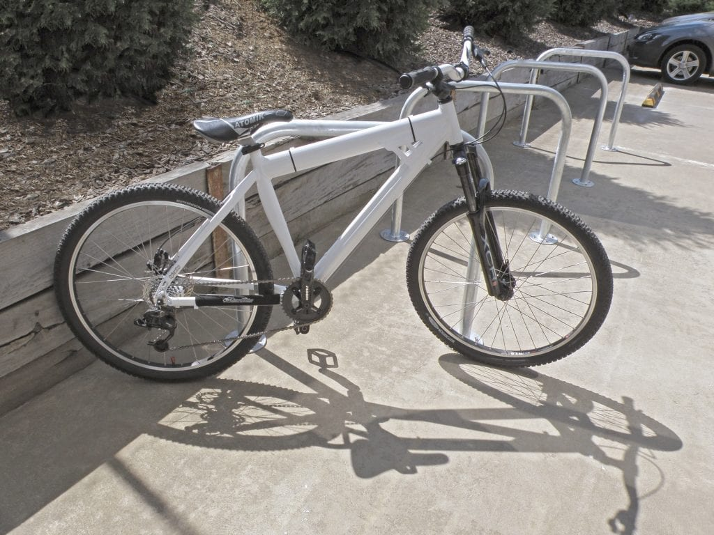 BR1G-SM 8 bikes rack