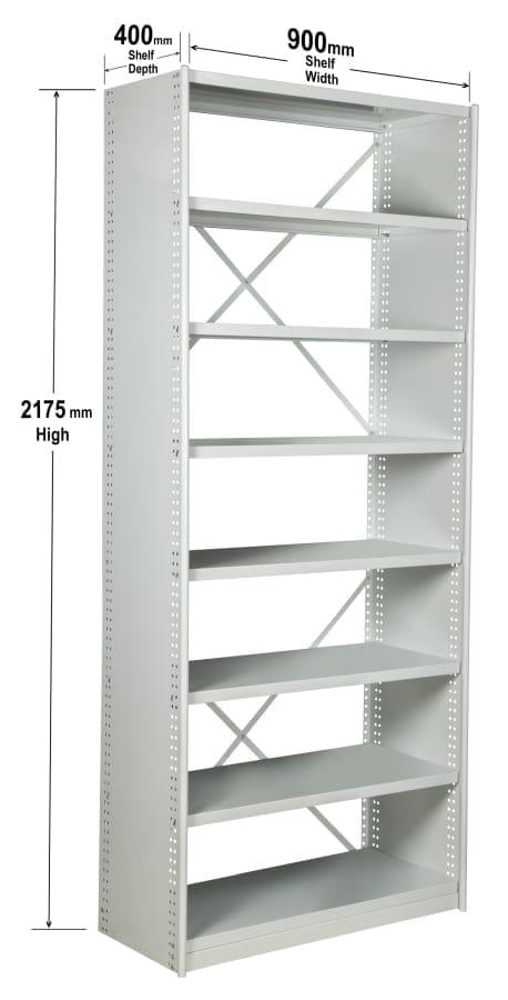 Shelf kit dimensions