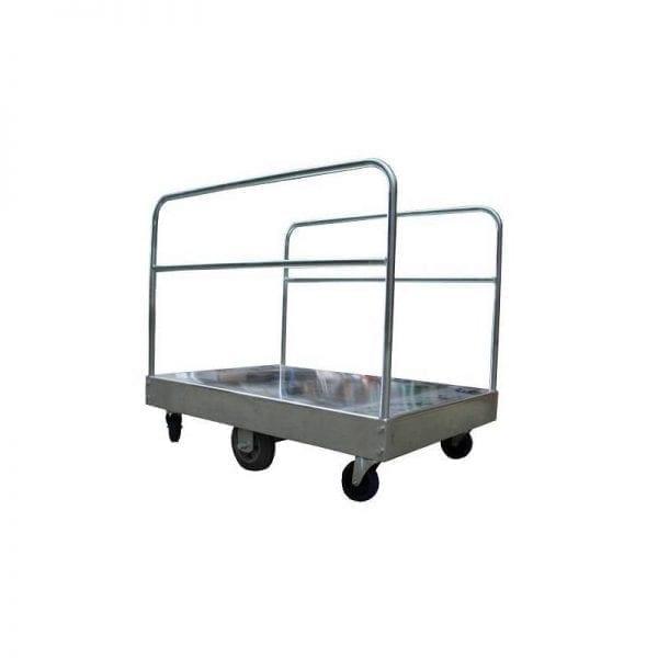 BS390 Galvanised Platform Trolleys