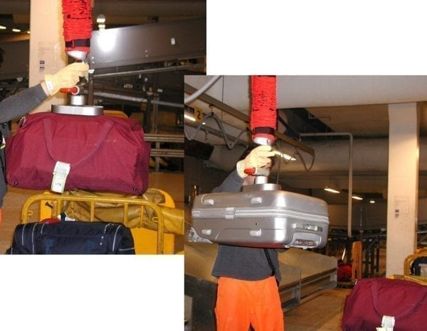 Vaculex handles all types of bags