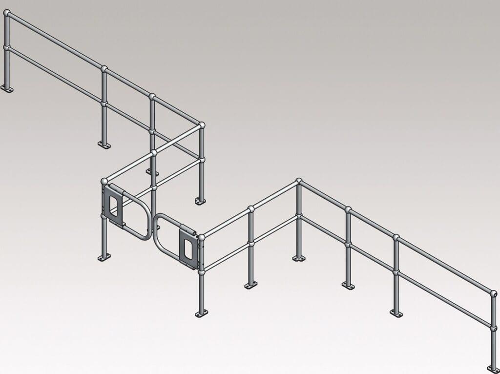 Ball Fence Handrail System