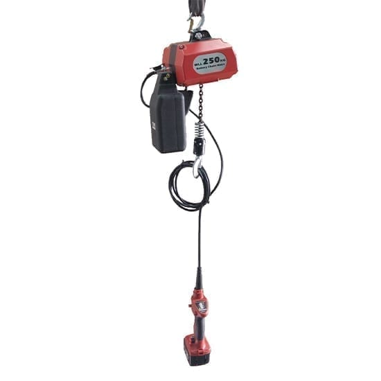 Battery Electric Chain Hoists 250 kg