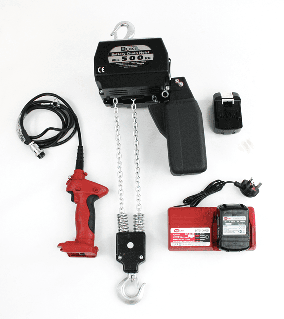 Battery Hoists Pack and Components