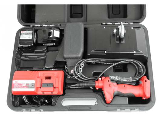 Battery Hoists Portable Carry Case Contents