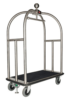 Bellboy Trolley 5 Star Large Silver model