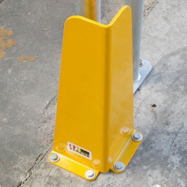 Bull Dog Brackets Pallet Racking Leg Guard Corner