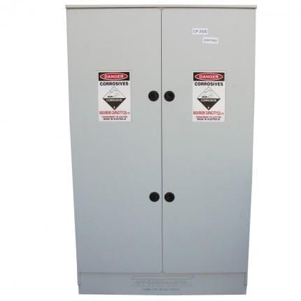 CP2500 Polyethylene Corrosive Storage Cabinets closed