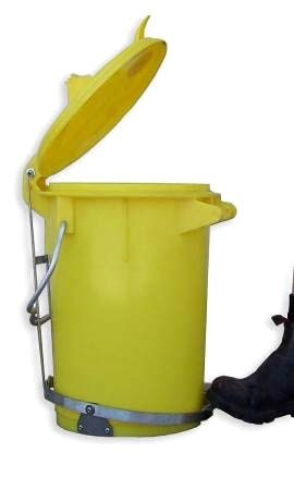 Clinical Biohazard Waste Bins foot pedal