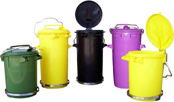 Clinical Biohazard Waste Bins