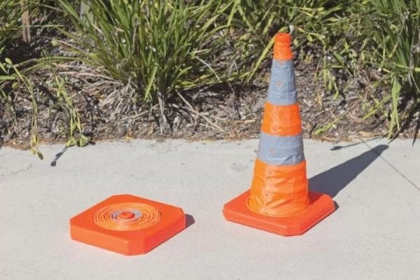Collapsible Cones plastic